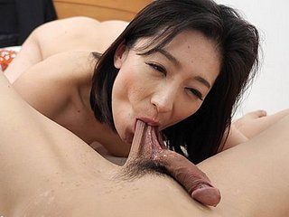 Japanese mature, Marina Matsumoto had sex, sated