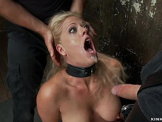 Blond gets whipped to the fullest fapping chopper