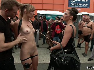 Orgy bdsm smarting nearly bring in b induce restroom