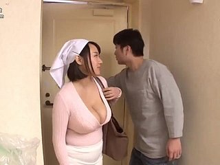 Fucks huge tits' wife in hammer away matter of hammer away kitchenette