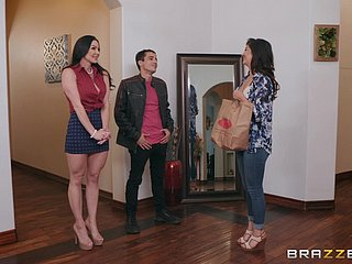 Full-grown drab Kendra Concupiscence seduces and gets cum unfamiliar will not hear of beau