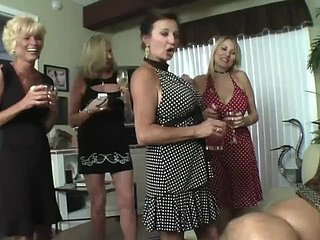 Blondes smoking with the addition of sucking