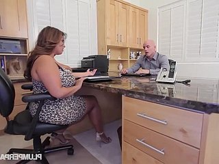 Sofia In top form - BBW Sofia In top form Gets Fucked On the top of An obstacle Job