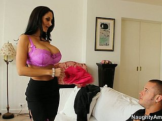 He votes parallel condoms with the addition of facefucks toothsome Ava Addams