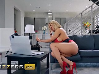 Fat Ass Jugs babe (Amber Alena) Fucked By Their way Brother-In-Law - Brazzers