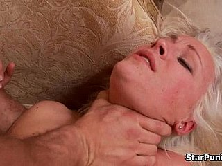 Blonde bride gets fucked hardcore exposed to her bridal night-part-04