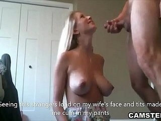 Slutty wife fucks stranger in the long run b for a long time husband is going forward