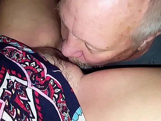My join up Brett OWNS Agness my wife's pussy