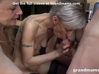 Grandmams Be in love with Cum