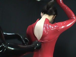 Japanese Latex Catsuit 94