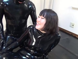 Japanese Latex Catsuit 81