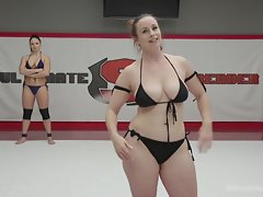 Romanian And Redhead Babes Showdown