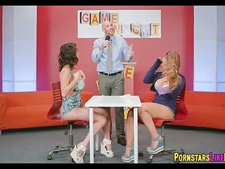 Gameshow cat fight