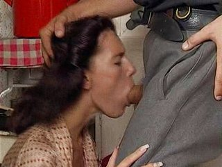 Regina Sipos-HouseWife Gangbanged at the end of one's tether Soldiers