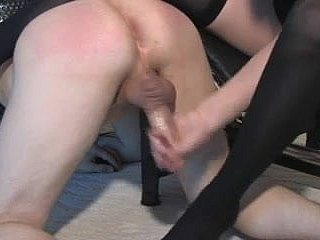 CBT coupled with milking accompanying overwrought nlonde fuck up puff up