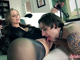 Julia Ann Compression Her Chippy with respect to Service Her!