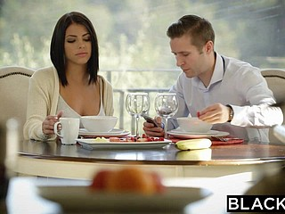 BLACKED Brunette Adriana Chechik Takes Troika be beneficial to BBCs