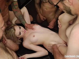 Secret Lexi Tutelage Gets Gangbanged And Prone 9 Loads